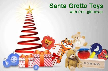 Santa Grotto Toys