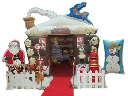 Example of a Santas Grotto