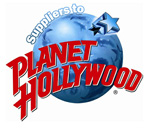 Suppliers to Planet Hollywood